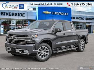 New 2021 Chevrolet Silverado 1500 High Country for sale in Brockville, ON