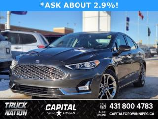 Used 2020 Ford Fusion Hybrid Titanium for sale in Winnipeg, MB