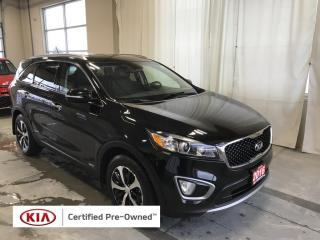 Used 2016 Kia Sorento 2.0L EX Turbo AWD | Certified Pre-Owned | One Owner for sale in Stratford, ON