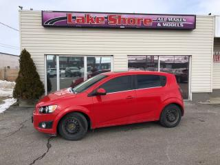 Used 2015 Chevrolet Sonic LT Auto LT SUNROOF for sale in Tilbury, ON