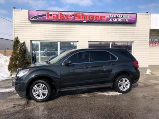Used 2013 Chevrolet Equinox LS LOCAL TRADE for sale in Tilbury, ON