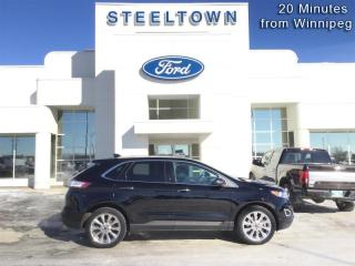 Used 2018 Ford Edge Titanium  - Leather Seats -  Bluetooth for sale in Selkirk, MB