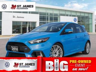 Used 2016 Ford Focus RS, Local One Owner, Heated Seats, Backup Camera for sale in Winnipeg, MB