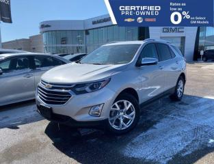 Used 2020 Chevrolet Equinox Premier AWD | Touchscreen Radio | Power Liftgate for sale in Winnipeg, MB