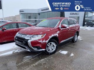 Used 2019 Mitsubishi Outlander ES AWD | Heated Seats | Touchscreen Radio for sale in Winnipeg, MB