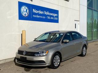 Used 2016 Volkswagen Jetta Sedan TRENDLINE+ AUTO - HTD SEATS / BACKUP CAM / VW CERTIFIED for sale in Edmonton, AB