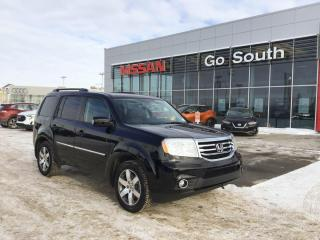 Used 2015 Honda Pilot TOURING, AWD, LEATHER, NAVIGATION, DVD for sale in Edmonton, AB