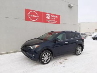 Used 2017 Toyota RAV4 LIMITED/AWD/PREMIUM AUDIO/MEMORY SEATS/POWER LIFTGATE/TOYOTA SAFETY SENSE for sale in Edmonton, AB