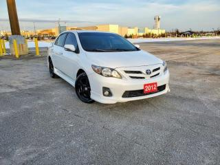 Used 2012 Toyota Corolla REAR CAMERA, SNOW TIRES, SUNROOF, CERTIFIED for sale in Mississauga, ON