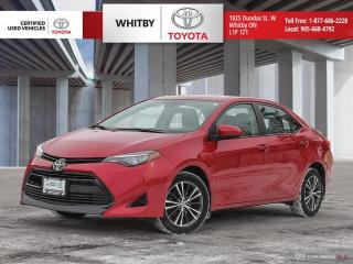 Used 2017 Toyota Corolla LE for sale in Whitby, ON