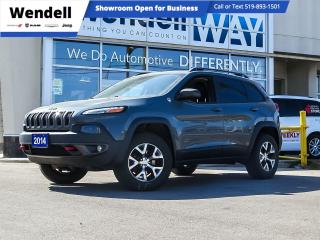 Used 2014 Jeep Cherokee Trailhawk 4X4/ Heated Seats / 8.4 Screen for sale in Kitchener, ON