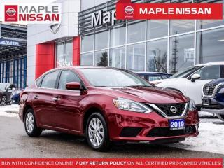Used 2019 Nissan Sentra SV Backup Camera Heated Seats Apple Carplay for sale in Maple, ON