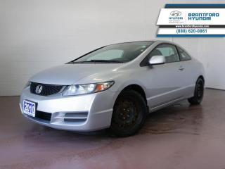 Used 2010 Honda Civic COUPE ONE OWNER | LOW KM | SUNROOF  - $133 B/W for sale in Brantford, ON
