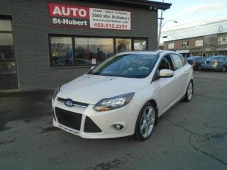 Used 2013 Ford Focus TITANIUM**CUIR**GPS**BLUETOOTH** for sale in St-Hubert, QC