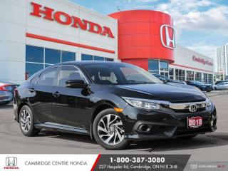 Used 2018 Honda Civic EX APPLE CARPLAY™ & ANDROID AUTO™ | REARVIEW CAMERA | PUSH BUTTON START for sale in Cambridge, ON