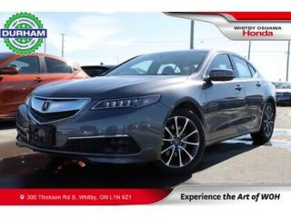 Used 2017 Acura TLX Sh-Awd for sale in Whitby, ON