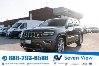 Used 2017 Jeep Grand Cherokee Limited NAVI/FULL SUNROOF/20 INCH SATIN ALUMINUM W for sale in Concord, ON