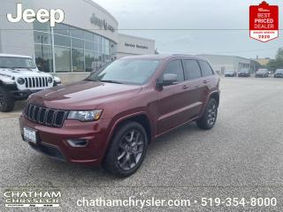 New 2021 Jeep Grand Cherokee Limited DÉMO for sale in Chatham, ON
