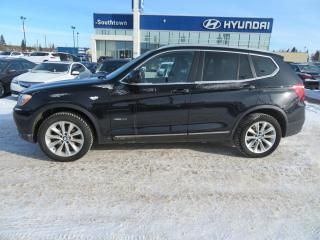 Used 2013 BMW X3 35i/AWD/LEATHER/ROOF/HEADS UP DISPLAY for sale in Edmonton, AB