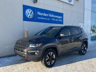 Used 2018 Jeep Compass TRAILHAWK 4X4 - LOADED - LEATHER / HTD SEATS for sale in Edmonton, AB