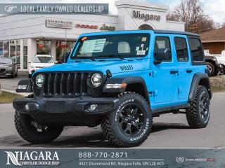 New 2021 Jeep Wrangler Unlimited Willys for sale in Niagara Falls, ON