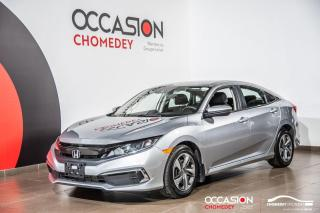 Used 2019 Honda Civic LX+BLUETHOOTH+CAMERA DE RECUL+SIEGES CHAUFFANTS for sale in Laval, QC
