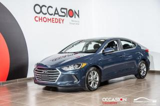 Used 2017 Hyundai Elantra GL+SIEGES/VOLANT CHAUFFANTS+CAM/RECUL+BLUETOOTH for sale in Laval, QC
