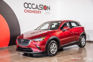 Used 2019 Mazda CX-3 GS AWD+CAM/RECUL+CUIR +SIEG/CHAUFF + SIEG/ELECT for sale in Laval, QC