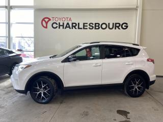 Used 2017 Toyota RAV4 SE - AWD - CUIR for sale in Québec, QC