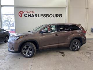 Used 2017 Toyota Highlander Limited - Toit panoramique - Cuir for sale in Québec, QC