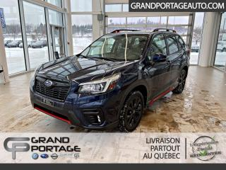 Used 2019 Subaru Forester 2.5i Sport avec ensemble EyeSight for sale in Rivière-Du-Loup, QC