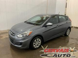 Used 2016 Hyundai Accent GL A/C Bluetooth Sièges chauffants *Hatchback* for sale in Trois-Rivières, QC
