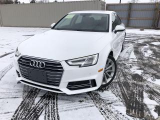 Used 2018 Audi A4 PROGRESSIV  QUATTRO AWD for sale in Cayuga, ON