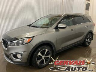 Used 2018 Kia Sorento EX V6 AWD 7 Passagers Cuir Toit Panoramique Mags *Traction intégrale* for sale in Trois-Rivières, QC