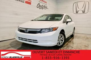 Used 2012 Honda Civic LX 4 portes, boîte automatique for sale in Blainville, QC