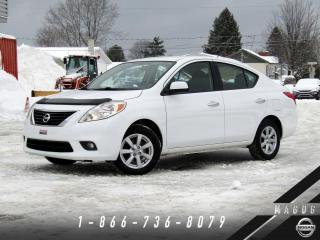 Used 2012 Nissan Versa SL + BAS KILO + MAGS + AIR CLIMATISÉ! for sale in Magog, QC