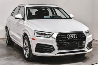Used 2017 Audi Q3 TECHNIK S/LINE CUIR TOIT NAV for sale in St-Hubert, QC