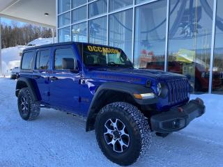 Used 2019 Jeep Wrangler RUBICON , 4X4 , NAVIGATION , SYSTÈME ALP for sale in Ste-Agathe-des-Monts, QC