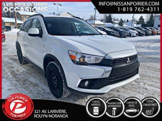Used 2017 Mitsubishi RVR SE Limited Edition ( frais vip 395$ non inclus) for sale in Rouyn-Noranda, QC