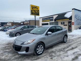 Used 2012 Mazda MAZDA3 GX TRIM , TWO SETS OF WHEELS for sale in Etobicoke, ON