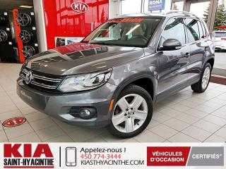 Used 2016 Volkswagen Tiguan Comfortline 4MOTION ** TOIT PANO / CUIR for sale in St-Hyacinthe, QC