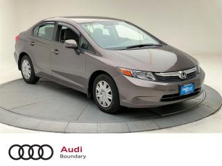 Used 2012 Honda Civic Sedan LX at for sale in Burnaby, BC