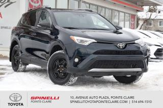 Used 2018 Toyota RAV4 SE AWD GPS, CUIR, MAGS, TOIT for sale in Pointe-Claire, QC
