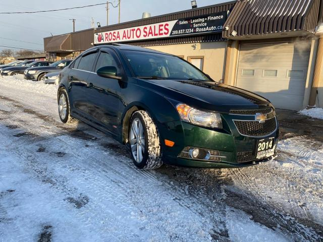 2014 Chevrolet Cruze Auto Sdn 2LT RS Leather Sunroof B-tooth B-camera l
