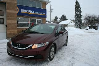 Used 2015 Honda Civic LX for sale in Nepean, ON