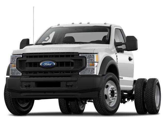 """2021 Ford F-550 Super Duty DRW XL 4WD REG CAB 205"""" WB 120"""" CA"""