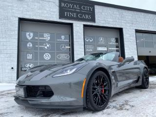 Used 2016 Chevrolet Corvette Z06 2LZ Convertible for sale in Guelph, ON