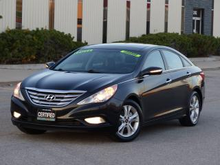 Used 2012 Hyundai Sonata LEATHER,LIMITED,PANORAMIC ROOF,1-OWNER,NO-ACCIDENT for sale in Mississauga, ON