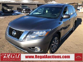 Used 2016 Nissan PATHFINDER S 4D UTILITY 4WD 3.5L for sale in Calgary, AB
