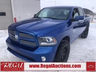 Used 2015 RAM 1500 Sport Crew Cab SWB 4WD 5.7L for sale in Calgary, AB